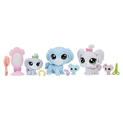 amazon com littlest pet shop fab lookin fam toys games