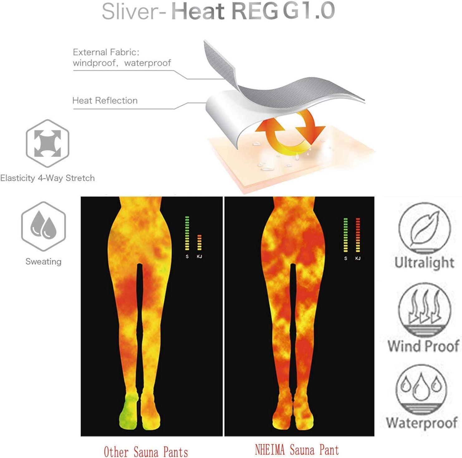 Leggins Anticeluliticos Cintura Alta Moonssy Leggins Reductores Adelgazantes Pantalones de Sauna Adelgazantes Mujer Nanotecnolog/ía Mallas Fitness Push Up para Deporte Running Yoga Gym