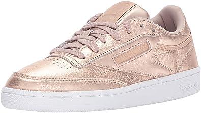 detaljhandelspriser Det bästa köper nytt Amazon.com | Reebok Women's Club C 85 Melted Metal Sneaker ...