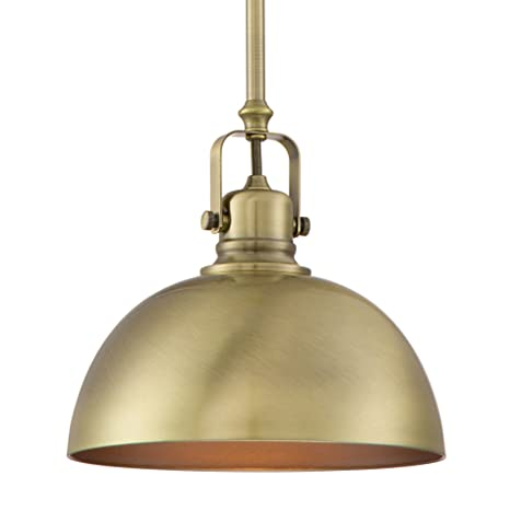 antique brass lighting island revelkira home belle 9quot contemporary adjustable pendant light antique brass finish 9