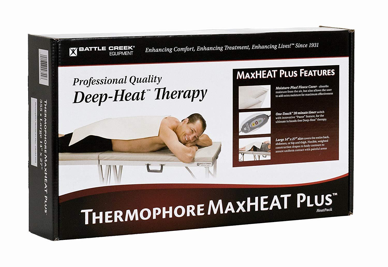 Battle Creek Equipment Thermophore MaxHEATª Plus Moist Heating Pad - Large/14'' x 27'' # 355 by Thermphore MaxHEAT