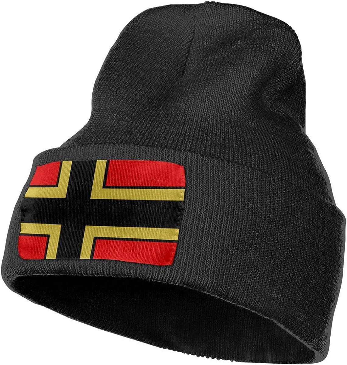 100/% Acrylic Acid Mas Beanie Hat Ruin Greek Flag Fashion Knitting Hat for Men Women