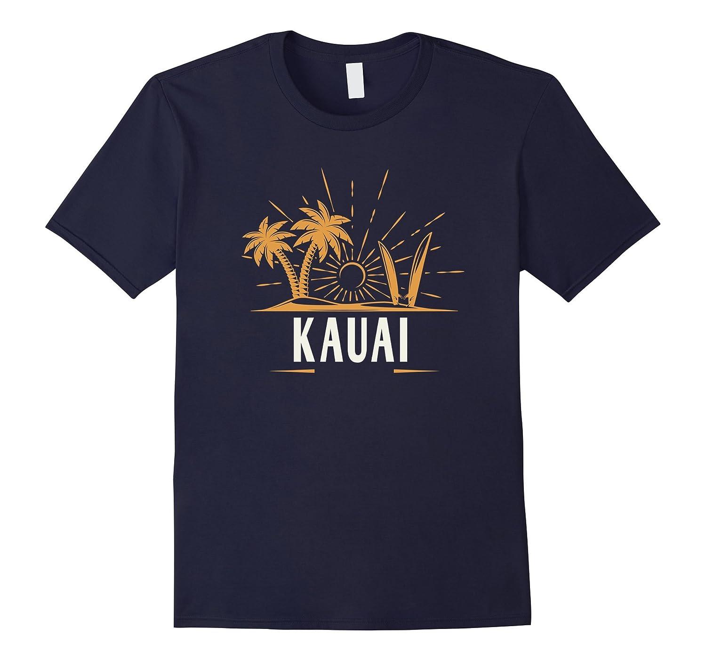 Kauai T-Shirt Vintage Beach Hawaii-T-Shirt