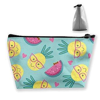 Custodia per il viaggio Borsa da viaggio Cute Ananas e motivo stampato a forma di anguria
