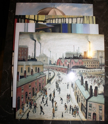 Download British Paintings 1885 - 1939; British Paintings 1940 - 1990; L. S. Lowry (Laurence Stephen Lowry) - Richard Green Galleries - London - November 2007 - THREE (3) VOLUME SET (EXHIBITION CATALOGUES) pdf