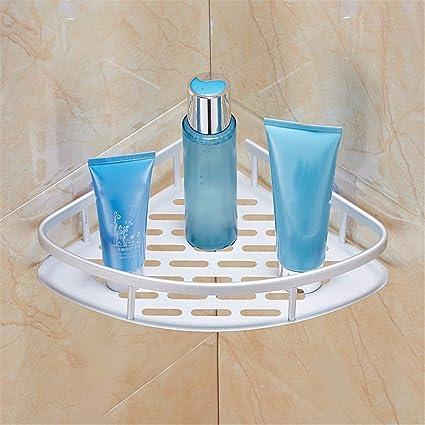 Amazon.com: Wall Shelf Shower Shelf Shampoo Holder Bathroom Corner ...