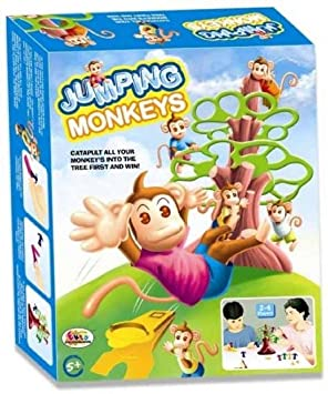 ORIGIN Jumping Monkeys Board Game, 2-4 Players - Senior