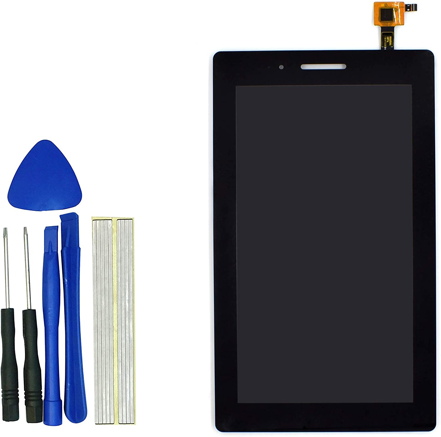 klesti Tablet Replacement LCD Digitizer Screen Parts for Lenovo Tab3 7.0/tab3-710(Black)