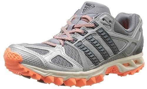 adidas Performance Womens Kanadia TR 6 W-1 Running Shoes D66511 Tech Grey /Black