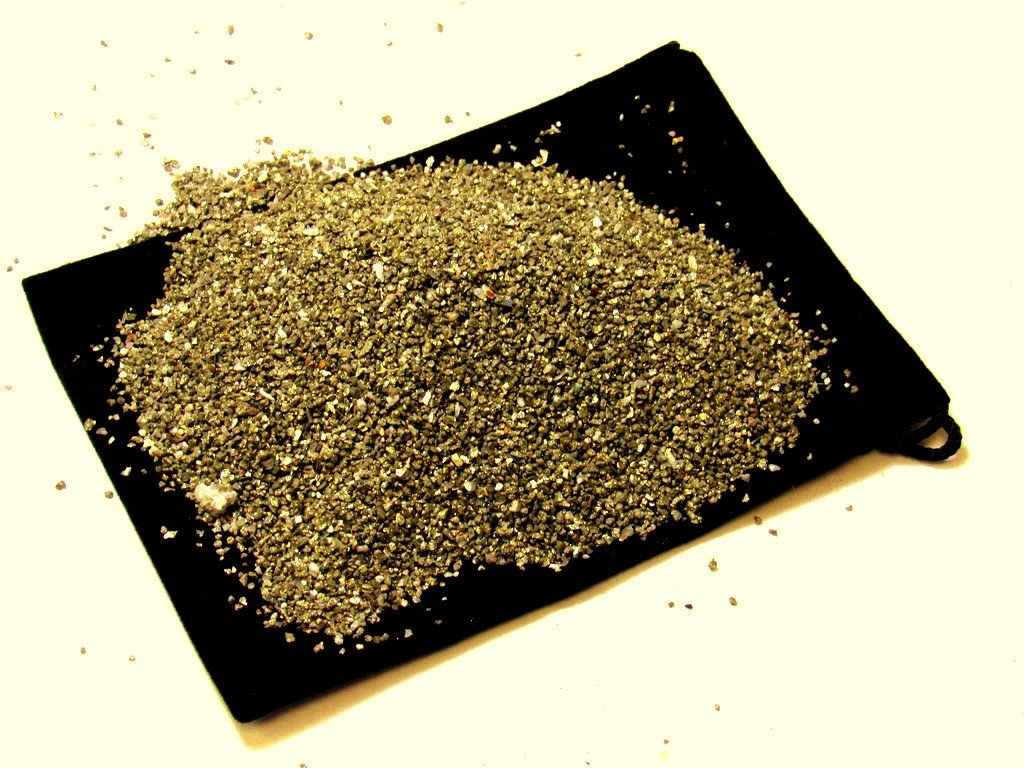 Zentron Crystal Collection: Half Pound Natural Rough Pyrite Fools Gold Sand
