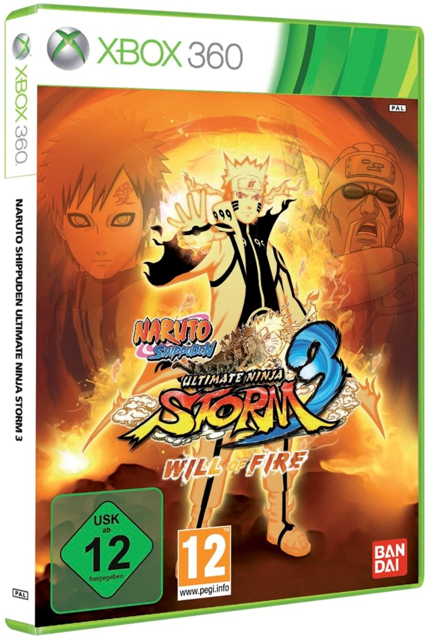 Amazon.com: Naruto Shippuden Ultimate Ninja Storm 3 - Will ...