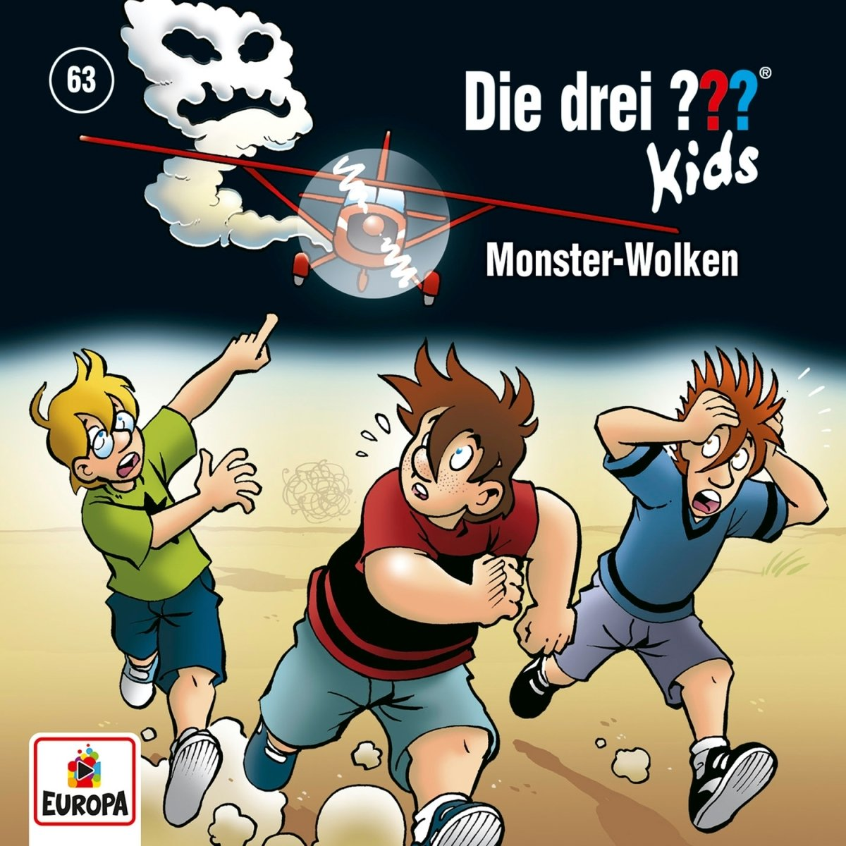063/Monster-Wolken Europa (Sony Music) Wort Kinderhörspiele
