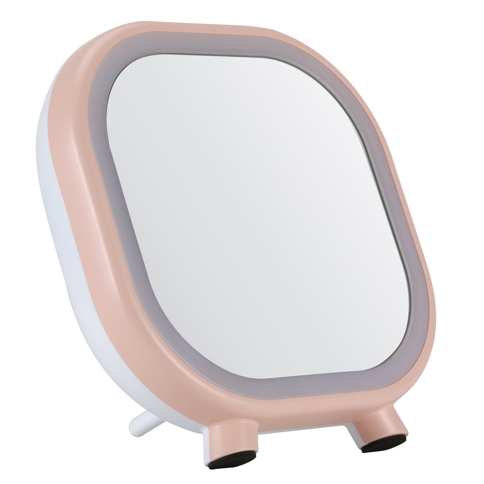 LED Makeup mirror Bluetooth speaker is a  for Mobile phones, Tablet computers, Laptops and other multi-functional Portable makeup mirror. Built-in battery, USB charging