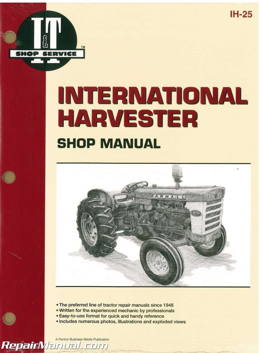 IH-25 International Harvester 2606, 460, 560, 606 and 660 Tractor Workshop  Manual: Manufacturer: Amazon.com: Books