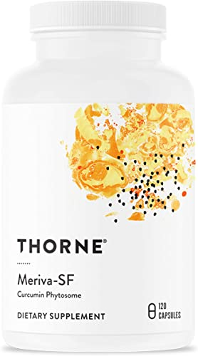 Thorne Research - Meriva SF Soy Free - Sustained-Released Curcumin Phytosome Supplement - 120 Capsules