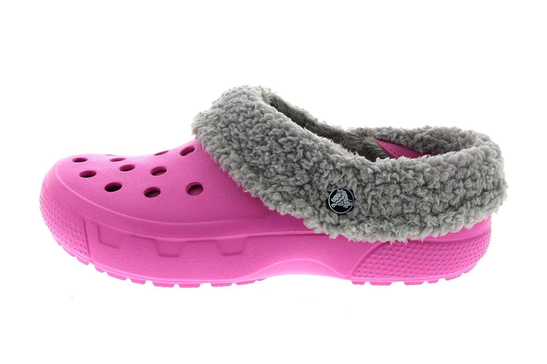 Crocs Schuhe - Gefütterte Mammoth Clogs Mammoth Gefütterte EVO Petal pink Petal Pink Light Grau dc5ced
