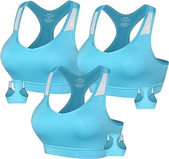 3AXE Women's Sport Bra Swimsuit Top