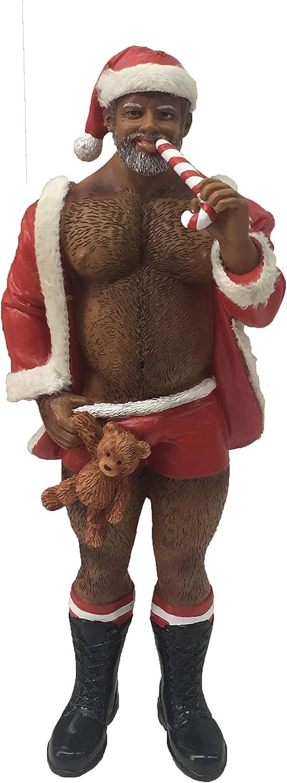 December Diamonds Poke The Bear Ornament - Santa Bear POC