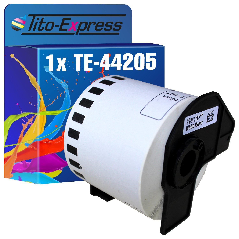 PlatinumSeries 1x Etichetta continua con Carrier Spool XL per Brother P-Touch DK-22223 50mm x 30,48m QL-560VP QL-570 QL-580N QL-650TD QL-700 QL-710W QL-720NW QL-1050N QL-1050 QL-1060NK Usa 22205..
