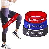 5BILLION Resistance Hip Bands - Exercise Bands for Booty, Thigh & Glutes - Soft & Non-Slip Design Loop Set(Set of 3)