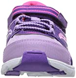 Saucony Girls' Baby Vortex Sneaker, Purple, 11