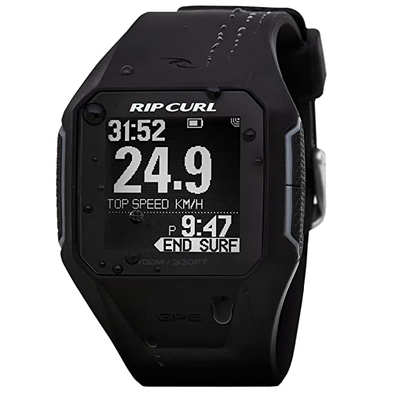 9302e050e56 Image Unavailable. Image not available for. Color  Rip Curl SearchGPS Smart  Surf Watch in BLACK A1111