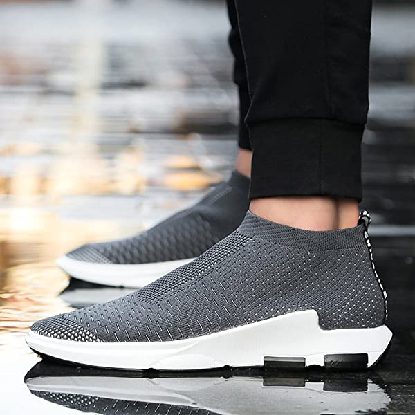 zapatillas sin cordones madaleno gris