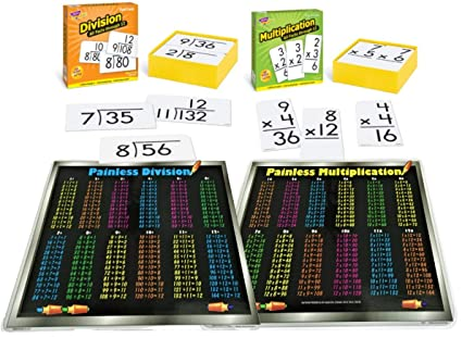 Amazon com: 325 Math Flash Cards : Multiplication and