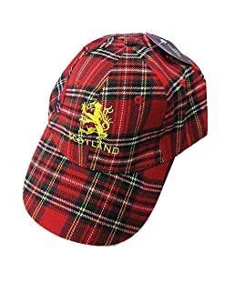 ROYAL STEWART SCOTTISH TARTAN BASEBALL CAP