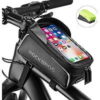 ROCKBROS Bike Phone Front Frame Bag Bicycle Bag Waterproof Bike Phone Mount Top Tube Bag Bike Phone Case Holder…