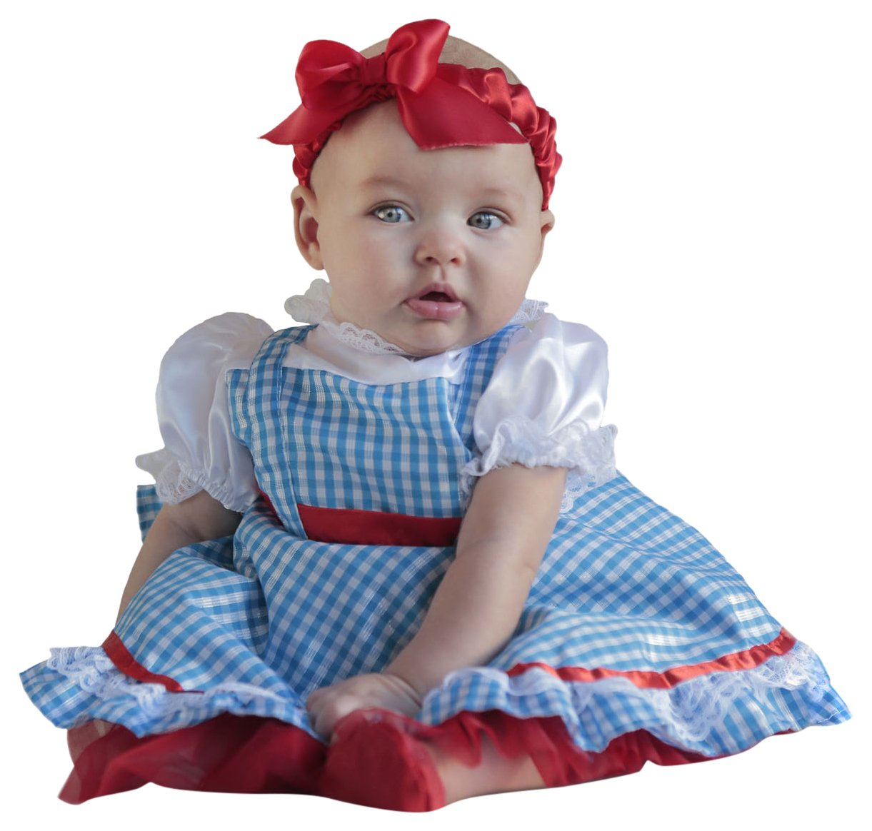 Princess Paradise Baby Girls' The Wizard of Oz Dorothy Newborn Costume Deluxe Costume, As Shown, 0/3M