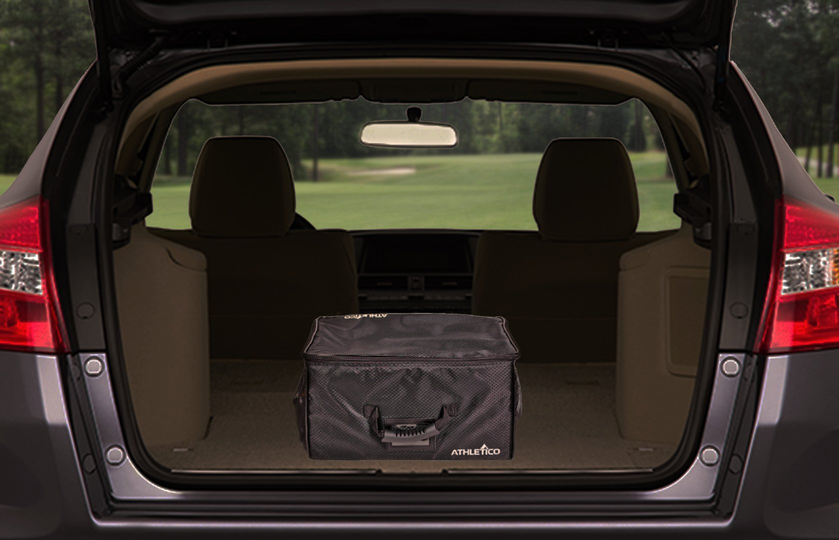 Athletico Golf Trunk Organizer Storage - Car Golf Locker To Store Golf Accessories | Collapsible When Not In Use by Athletico (Image #7)