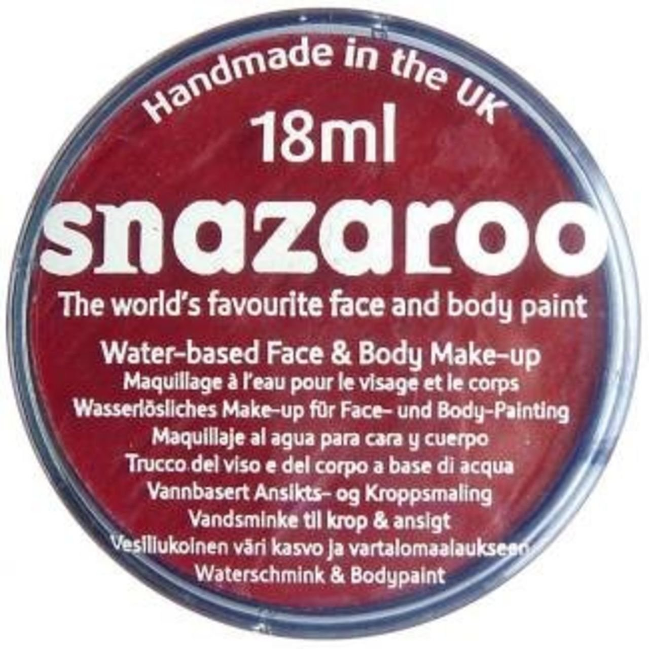 0c6bd0eac Snazaroo Face Paint 18ml Bright Green (444): Amazon.co.uk: Toys & Games