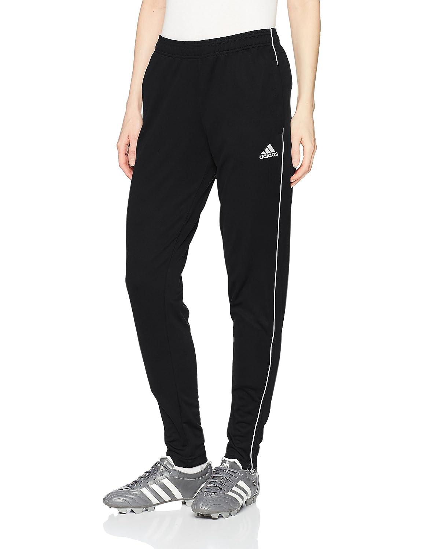 Adidasレディースサッカーコアトレーニングパンツ B072NB286M X-Large ブラック/ホワイト ブラック/ホワイト X-Large