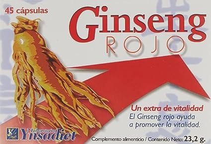 Ynsadiet Ginseng Rojo - 45 Cápsulas