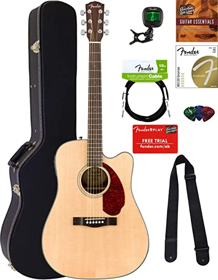 Fender CD-140 guitarra acústica: Amazon.es: Instrumentos musicales