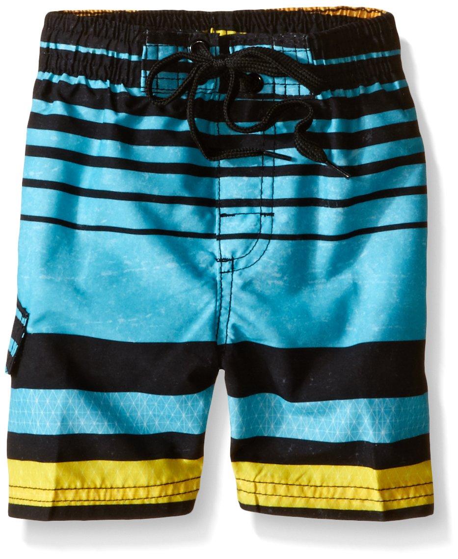 Kanu Surf Boys' Toddler Echo Stripe Swim Trunks 3431