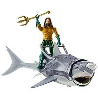 DC Comics Action Figure Aquaman y Tiburón Guerrero, 6 Pulgadas