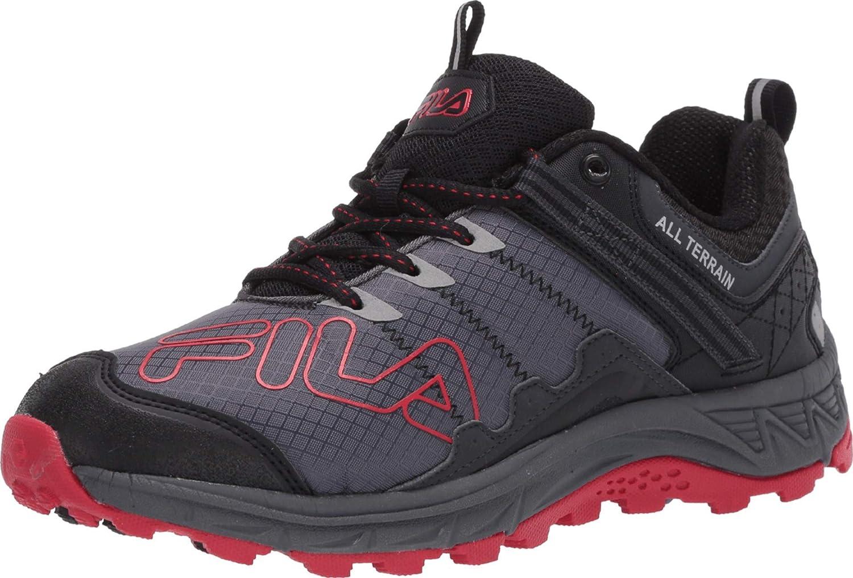 Fila Mens Blowout 19 Memory Foam Reflective Trail Running Zapatos: Amazon.es: Zapatos y complementos