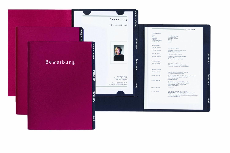 Bewerbungsmappe Success Rot: Amazon.de: Bürobedarf & Schreibwaren