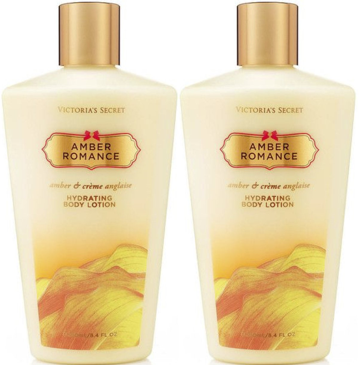 8f833c9c46 Amazon.com   Victoria s Secret Amber Romance Hydrating Body Lotion 8.4 oz    250 ml Set of 2   Beauty