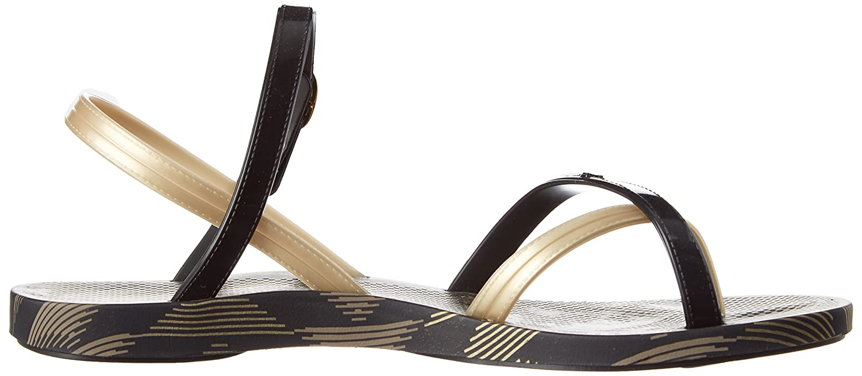 Ipanema Fashion Sand IV Fem, Sandalia con Pulsera para Mujer, Negro (Black/Gold 21117), 40 EU: Amazon.es: Zapatos y complementos