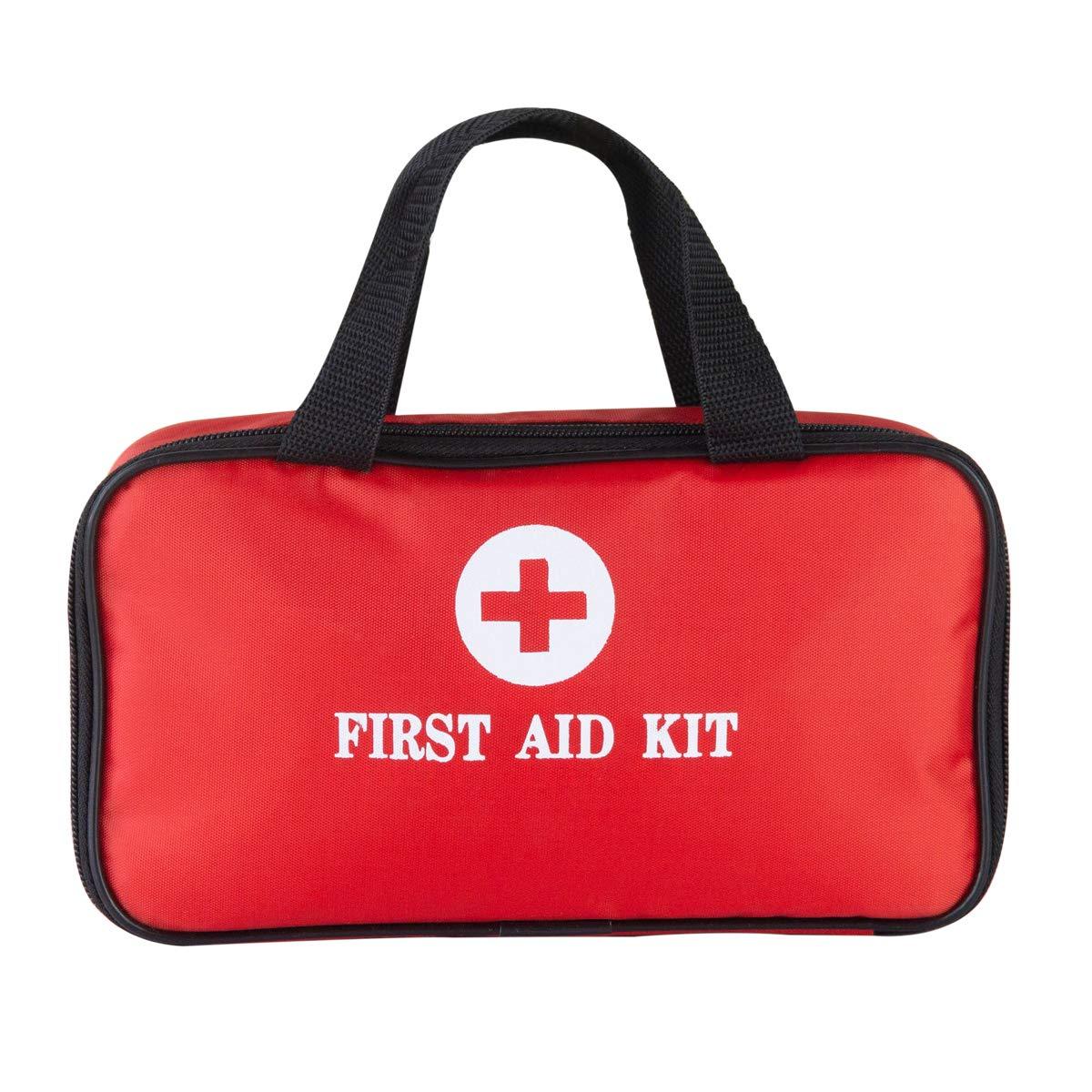 Hethrone 139 pcs Premium First Aid Bag Includes Various Necessities