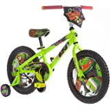 "16"" Nickelodeon Teenage Mutant Ninja Turtles Boys' Bike, Black (TMNT Bike)"