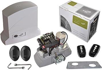 King Gates dinamos 1000/230 LT Kit (para puerta corredera): Amazon.es: Bricolaje y herramientas