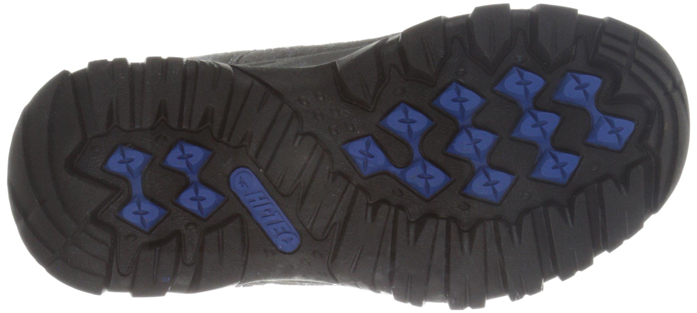 Hi-Tec Hillside Low WP Jr - K, Charcoal/Blue/Black, 6 M US Big Kid by Hi-Tec (Image #3)