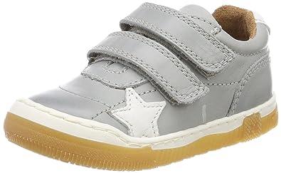 Bisgaard 40305118, Baskets Mixte Enfant, Gris (400 Grey 400), 33 EU
