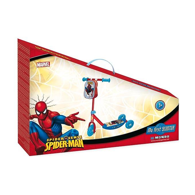 Mondo Spiderman - Patinete infantil: Mondo Spiderman My ...