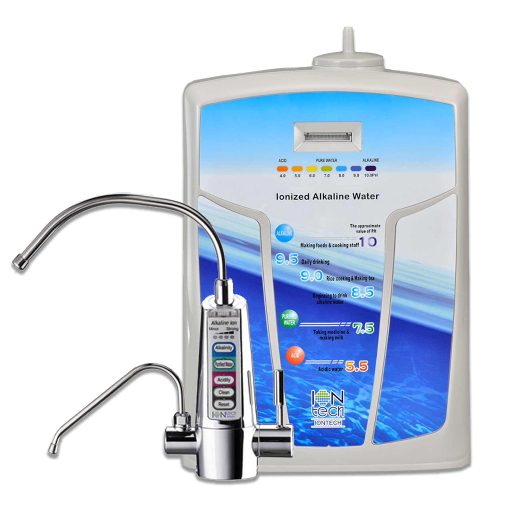 IONTech IT-750 Under Sink Alkaline Water Ionizer and Filtration System by IONTech