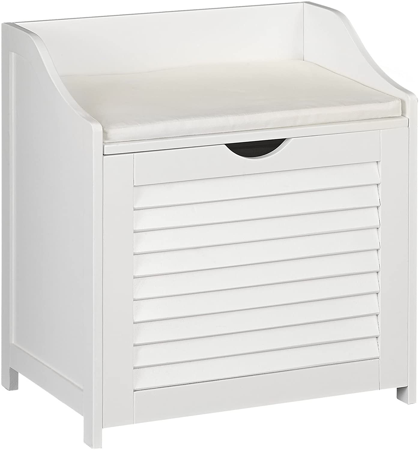 Household Essentials Single Load Hamper Cabinet Seat